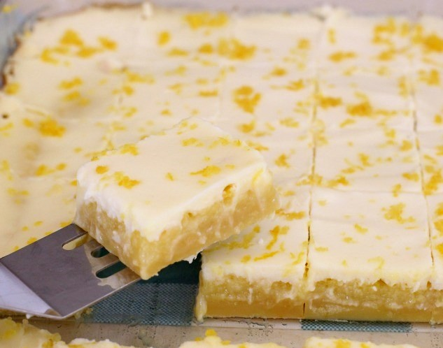 Easy Italian Lemon Butter Bars