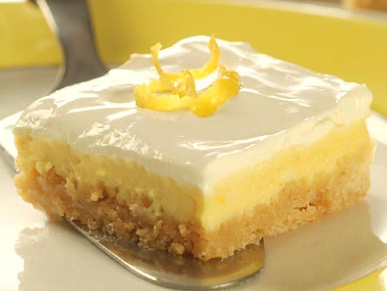 Italian Limoncello Cheesecake Bars