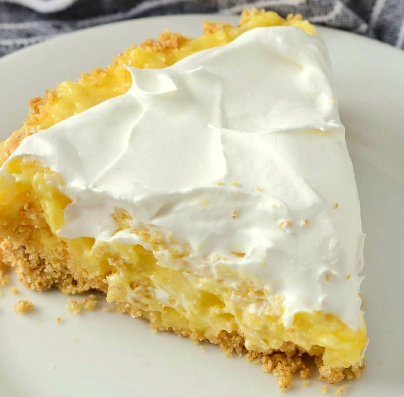 Quick Pineapple Pie