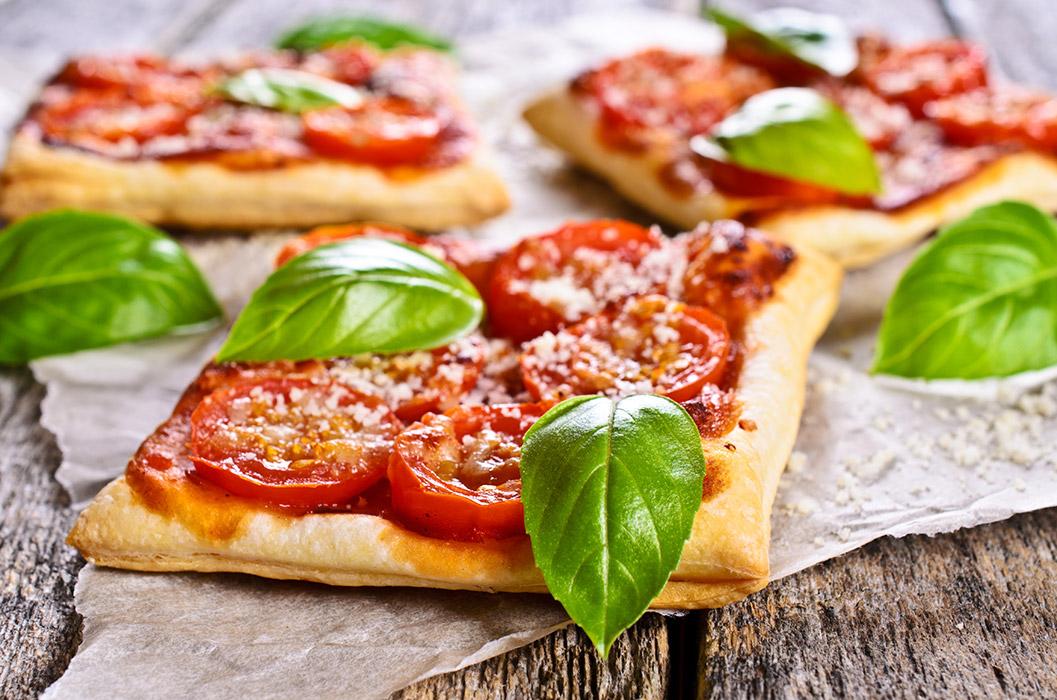 Cheese and Tomato Tart (Torta di pomodori e formaggio)