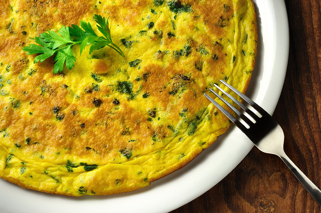 Frittata with Parsley Recipe