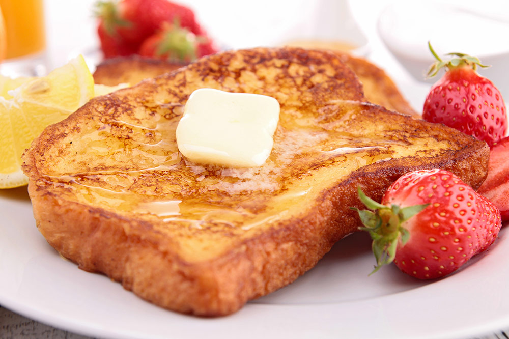 French Toast – Basic Recipe (works with all types of bread!)