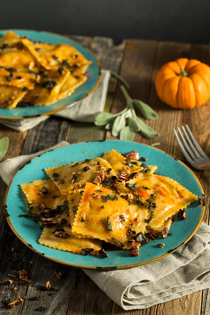 Pumpkin Ravioli (Ravioli allla Zucca) – Traditional Italian Recipe